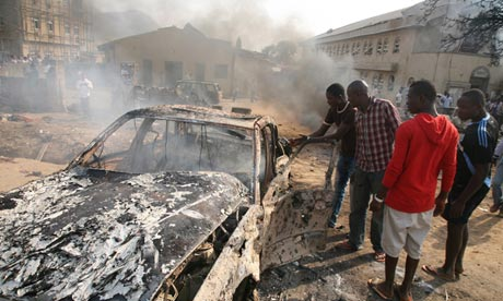 Bomb at abuja church