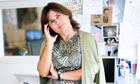 Alexandra Shulman, editor of British Vogue.