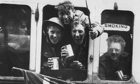 Members of the British Expeditionary Force arrive home after being evacuated from Dunkirk