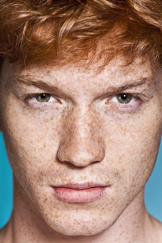 Ginger hair man