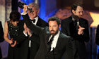 Ben Affleck gets a gong for Argo at the SAG awards in LA.