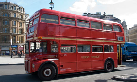 Routemaster double deck bus