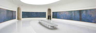 Monet's Water Lilies in the newly renovated Orangerie