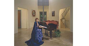 Marjorie Wallace photographed by Julia Fullerton-Batten