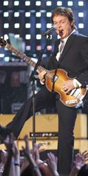 Paul McCartney performs at the Grammy Awards