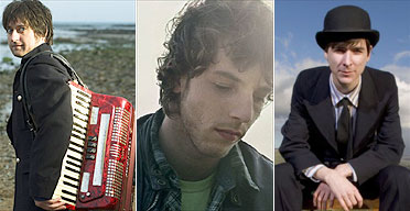 King Creosote, James Morrison and Jim Noir