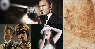 Autumn 2006 picks: Casino Royale, Leonardo at V&A, Lily Allen and Gaddafi at ENO