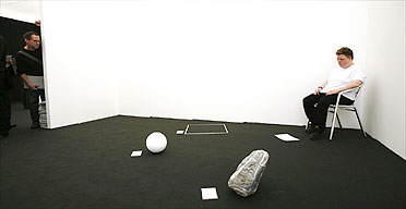 The Second Solution of Immortality: the Universe is Immobile, by Wrong Gallery at Frieze 2006