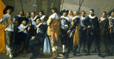 Frans Hals and Pieter Codde's The Meagre Company, Rijksmuseum, Amsterdam
