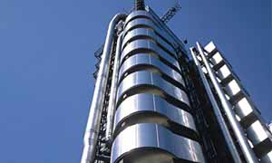 The exterior of the Lloyd's Building, London