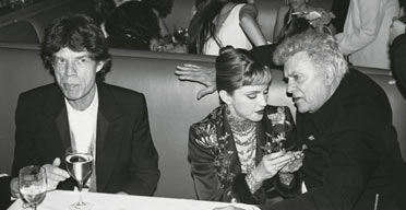 Vanity Fair exhibition at the NPG: Mick Jagger, Madonna & Tony Curtis, 1997