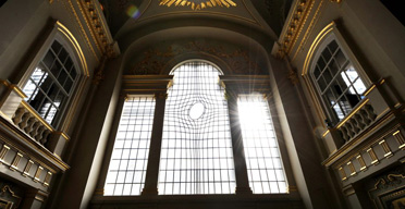 The new East Window in St Martin-in-the-Fields by Shirazeh Houshiary