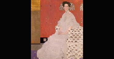 Fritza Riedler (1906) by Gustav Klimt, Tate Liverpool