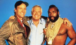 The A-Team: Murdock, Hannibal, BA Baracus