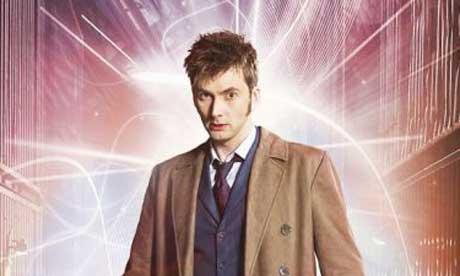 David Tennant as Doctor Who 2008
