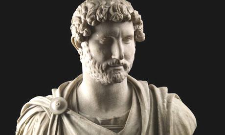 Hadrian in military dress, 125-130 AD