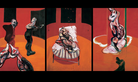 Francis Bacon's Three Studies for a Crucifixion, 1962, Solomon R Guggenheim Museum, New York