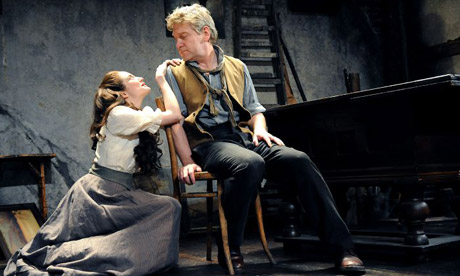 Andrea Riseborough and Kenneth Branagh in Ivanov