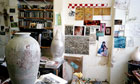 Grayson Perry's studio