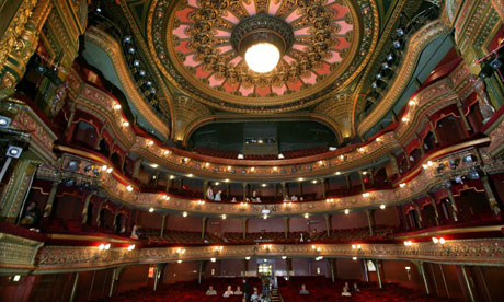 The best seat in the house stage the guardian for Balcony novello theatre