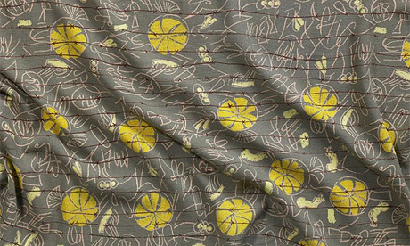 Henry Moore's Barbed Wire textile headscarf design c.1946