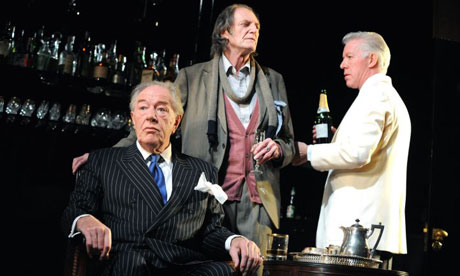 Michael Gambon, David Bradley and Nick Dunning in No Man's Land