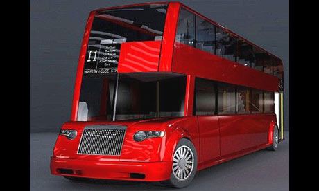 One of the designs for the new Routemaster, the e21 by Michael Kerz