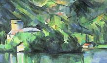 1000 artworks: Paul Cézanne, Le Lac d'Annecy (1896)