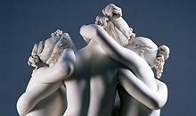 1000 artworks: Antonio Canova, The Three Graces (1814-1817)