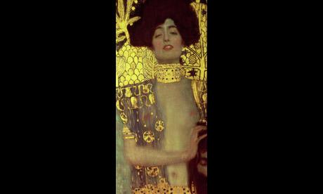 1000 artworks: Detail of Klimt's Judith und Holofernes (1901)