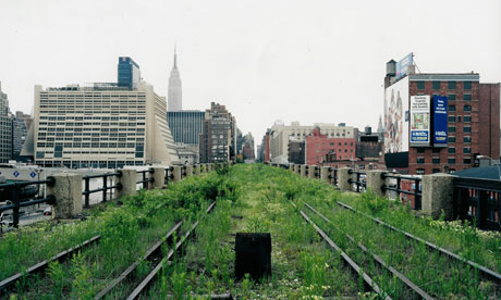 new york 39 s historic elevated train line becomes a park art and design the guardian. Black Bedroom Furniture Sets. Home Design Ideas