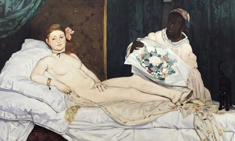 1000 artworks: Detail of Manet's Dejeuner sur l'Herbe