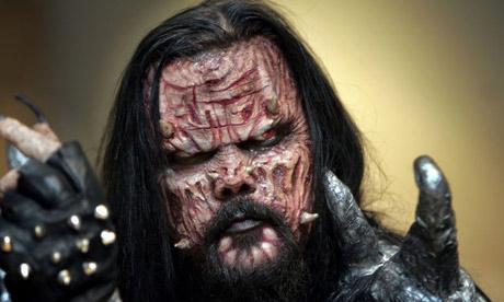 Finnish Eurovision winners Lordi