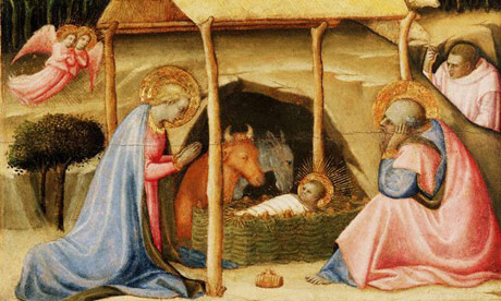 15th century nativity scene by