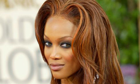 Tyra Banks, who hosts America's Next Top Model