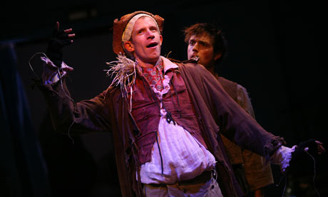 A scene from The Scarecrow and His Servant at Southwark Playhouse