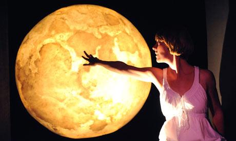 Laura Cubitt in Brilliant at Polka theatre in 2008