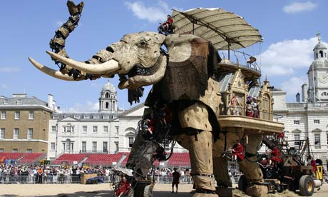 The Sultan's Elephant Brings London To A Standstill