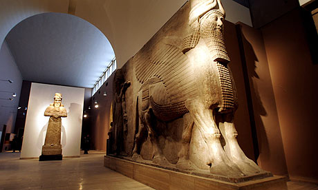 baghdad iraq national museum reopens