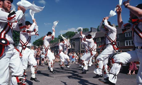 Morris Dancing. Practised in England. Unlike Fado