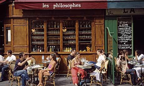 images of paris cafes