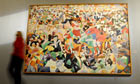 Gino Severini's futurist painting Pan Pan Dance at Monico