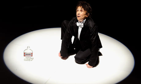 Kathryn Hunter in Kafka's Monkey at the Young Vic