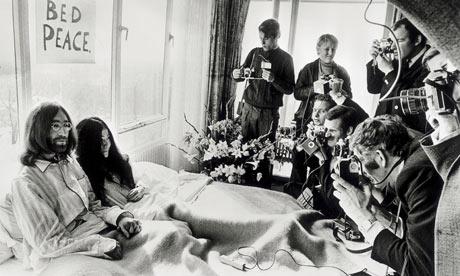 The Beatles Polska: Amsterdam - pierwsza z dwóch akcji Bed In