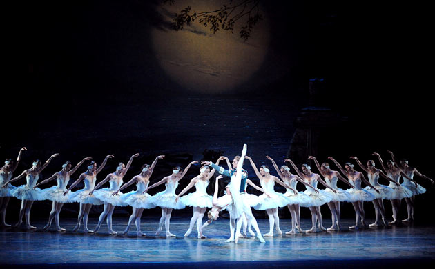 Corps de ballet from Swan Lake, set by the American Ballet Theatre