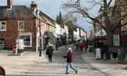 King Street in Thetford, Norfolk - Birthplace of Thomas Paine