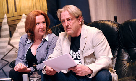 Melanie Hill and Mark Wingett in Maggie's End at Shaw theatre, 2009