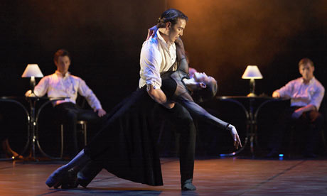 Northern Ballet Theatre's premiere of As Time Goes By