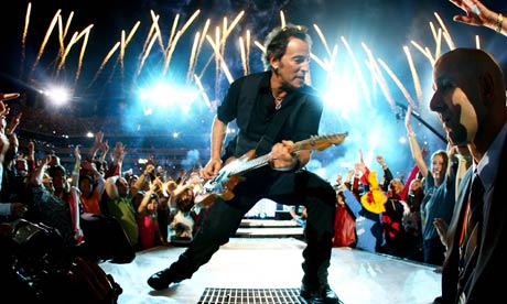 bruce springsteen. Bruce Springsteen performs at