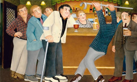 Beryl Cook painting, Tommy Dancing Oil